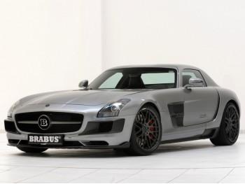 Обвес Brabus на Mercedes SLS