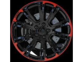 Диски Brabus Monoblock R Red & Black