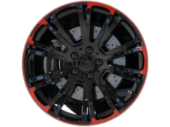 Диски Brabus Monoblock R Red Black